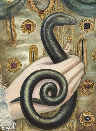 An artist's reconstruction of the serpent.