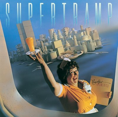 The album cover for Supertramp's Breakfast in America